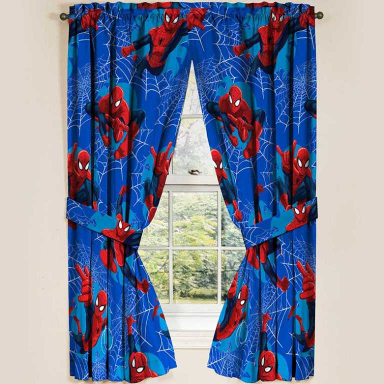 draperii spiderman